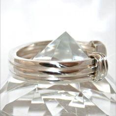 9a89662b7 <b>Tiffany & Co.</b> Rare Sterling 1995 Atlas Grooved Cuff Bracelet