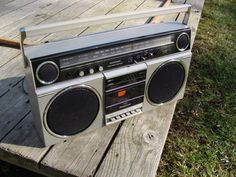 Vintage Panasonic RX 5080 Ambience Am FM Cassette Boombox Ghetto Blaster | eBay
