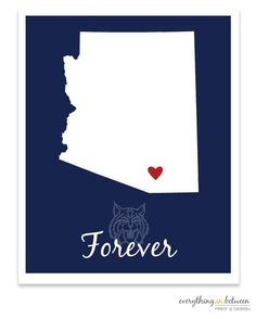 My birthplace Tucson, Arizona Arizona Wildcats, University Of Arizona, Way Of Life, Have Time, Red And Blue, Crafty, Art Prints, My Favorite Things, Tucson Arizona