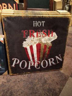 Decor for our future Home Movie Theater