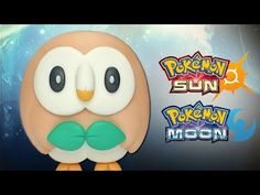 Pokemon Sun & Moon Rowlet polymer clay tutorial