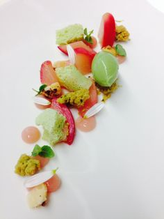 Peach / green tea / verbena / macadamia nut - The ChefsTalk Project