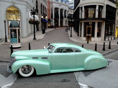 1940 Cadillac Sixty Two.