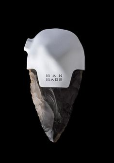 Man-made series of contemporary prehistoric hand-axes by Studio Ami Drach & Dov Ganchrow