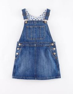 Dungaree Dress 33319 Day Dresses and Pinnies at Boden