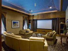 HGTV designers and fans offer design ideas and decorating tips for creating a covetable media room.
