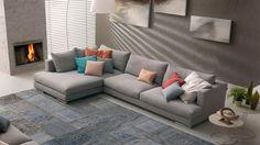 Il modello Xelle, un divano sfoderabile griggio creato con gusto da Chateau D'Ax. Scegli la casa Chateau, oltre a 60 anni di esperienza nell'arredamento. Sofa Chair, Outdoor Furniture, Outdoor Decor, Sweet Home, New Homes, Cushions, House Design, Living Room, Interior Design