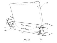 Apple patent application shows Smart Cover with a flexiblesecondarydisplay
