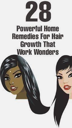d65508c3c 28 Powerful Home #Remedies For Hair Growth really great tips you should not  miss it
