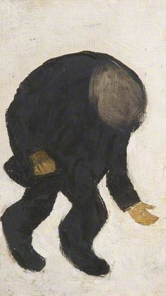 BBC - LS LOWRY artist. Your Paintings - A Beggar