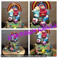 Moshi monster cake fill pic