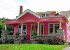 pink house oh my!