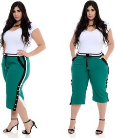Pin by merary clement on moda plus in 2019 Office Outfits, Stylish Outfits, Cute Outfits, Fashion Outfits, Plus Size Looks, Plus Size Model, Curvy Women Fashion, Plus Size Fashion, Womens Fashion