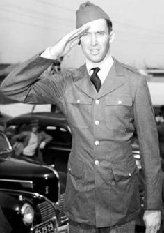 Jimmy Stewart actor served in the military for our country