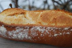 Baking Bread-Making a Classic Batard (not a swear word- Batard is a French word for a short baguette) Recipe by Pro Chef