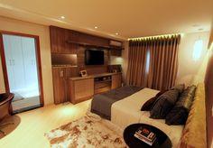 armário espelhado bronze quarto - outra vista