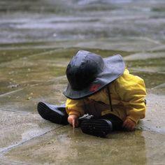 Love the rain gear...