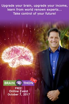 http://www.myneurogym.com/go/?p=MBALZANI&w=LBAT2017REG If you spend one Saturday at The 6th Annual Live #BrainAThon, you could spend the rest of your life living in financial freedom. Eight of the world's top #brain science experts are going to show you how. Tap the link in my bio to save your spot. #braingains #success #goals #neuroscience