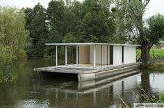 WATERBUS S.C. - Hausboat Do it yourself 15x5.6 m Bateau à moteur d'occasion…