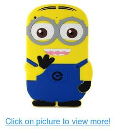 abaopoker(TM) 3D Cute Popular Despicable Me 2 Minions Rubber Soft Silicone Cover Case for iPad Mini 1 2 (Blue) #abaopokerTM #3D #Cute #Popular #Despicable #Minions #Rubber #Soft #Silicone #Cover #Case #iPad #Mini #Blue