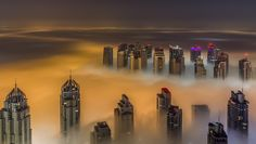 Foggy City by Dany Eid on 500px