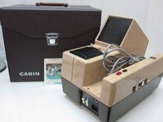 S1336EB CABIN スライドプロジェクターTWIN CABIN AUTO ジャンク_画像1