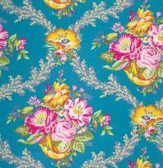 Jennifer Paganelli, Modern Fabric, Vickie in Peacock, Cotton Fabric, Good Company, One Yard  by chitchatfabrics on Etsy https://www.etsy.com/listing/209170041/jennifer-paganelli-modern-fabric-vickie