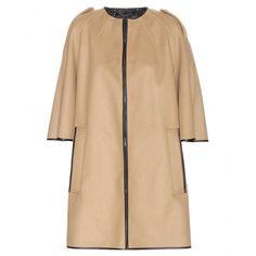 mytheresa.com - Wool poncho - Short - Coats - Clothing - Luxury Fashion for Women / Designer clothing, shoes, bags
