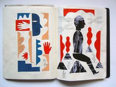 In this second installment of Hunter | Gatherer, Laura Tarrish opens the sketchbooks of three more illustrators