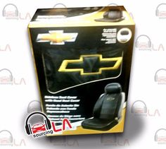 Sourcing-LA: Chevrolet Chevy Elite Seat Covers Black Synthetic ...