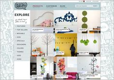 E-commerce web site design: www.whatisblik.com/shop