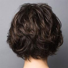 Brenna Rene Of Paris Brenna short wig in Caramel Brown Short Shag Hairstyles, Haircuts For Wavy Hair, Short Hair Cuts, Cool Hairstyles, Medium Hair Styles, Curly Hair Styles, Rides Front, Short Wigs, Hair Trends