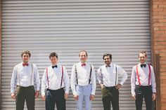 red suspenders wedding - Google Search