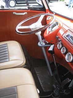 VW Bus Dashboard - 1967