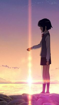 37 Ideas kimi no na wa wallpaper couple Wallpaper Animes, Animes Wallpapers, Cute Wallpapers, Wallpaper Lockscreen, Phone Wallpapers, Couple Manga, Anime Love Couple, Anime Films, Anime Characters