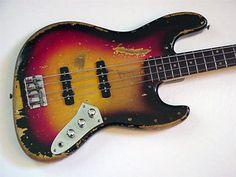 Jaco Pastorius' 1963 Fender Jazz bass. Talk about mojo.