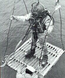 US Navy Mark V dive