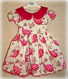 Teapot Party Dress - The Supermums Craft Fair  For the baby girl!