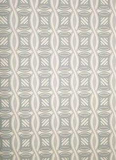 Minuet Wallpaper Grey and cream soft geometric wallpaper.