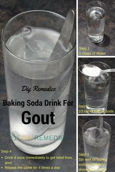 Knee Pain: How to Treat Gout using Baking Soda