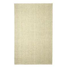 Tweed Flatweave Dhurrie Ivory 8x10