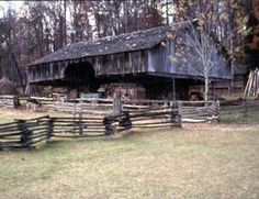 Cantilever Barns of east TN