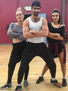 Skilled: The model and actor, who is in the final five on Dancing With the Stars, has more than 25 family members who are also deaf