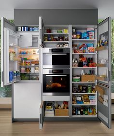 pantry in small kitchen