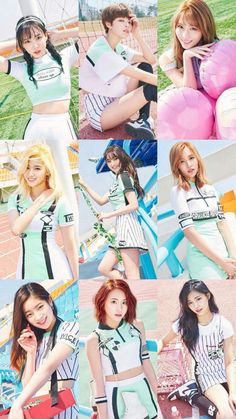 Twice - Cheer up Nayeon, Kpop Girl Groups, Korean Girl Groups, Kpop Girls, Twice Dahyun, Tzuyu Twice, Twice Group, Twice Album, Twice Jungyeon