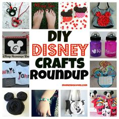 DIY Disney Crafts Roundup. So many crafts ... so little time!