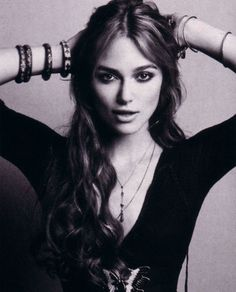 Kira Knightly. My mum says I look like her... I'm not sure about that.