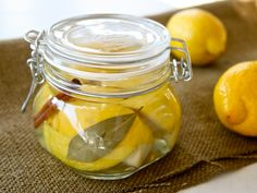 I love using preserved lemons in tagine cooking. Cooking Lessons: Kiss the cook: give the gift of preserved lemons Lemon Recipes, New Recipes, Healthy Recipes, Recipies, Favorite Recipes, Probiotic Foods, Fermented Foods, Pesto, Preserved Lemons
