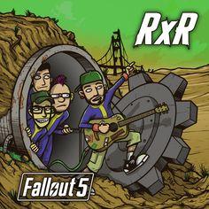 RXR Fallout 5 Fallout, Comic Books, Comics, Cover, Cartoons, Cartoons, Comic, Comic Book, Comics And Cartoons