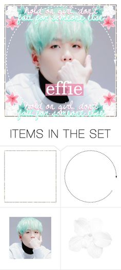 """""""✨ icon contest entry two"""" by peachy-creations ❤ liked on Polyvore featuring art, bts, Suga, peachysicons and effie2kcontest"""